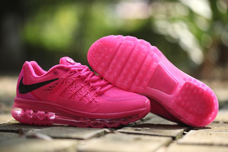 Womens Nike Air Max 2015 White Pink Pow Black