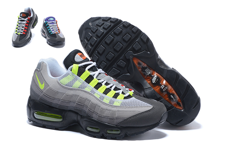 Men Nike Air Max 95 Running Shoes 20 Anniversary 208 eee991b00