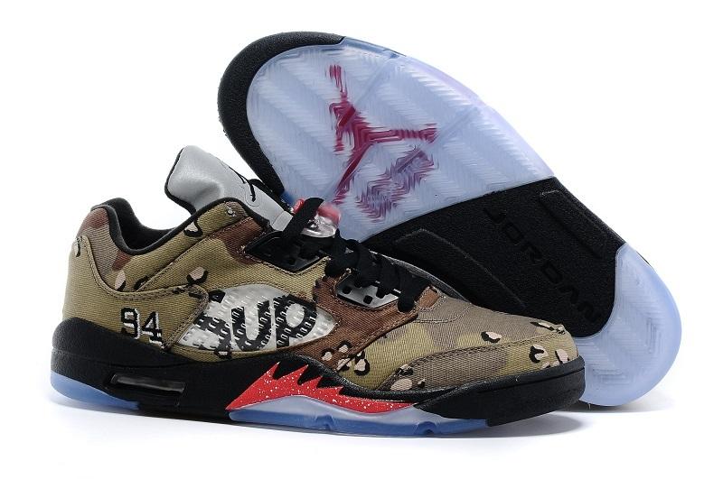 Men Basketball Shoes Air Jordan V Retro Low AAA 289