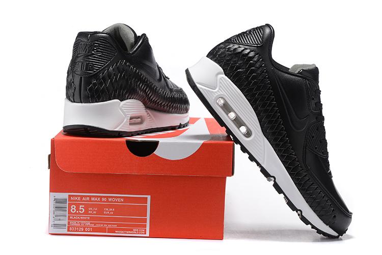 ... Men Nike Air Max 90 Woven Running Shoe 301