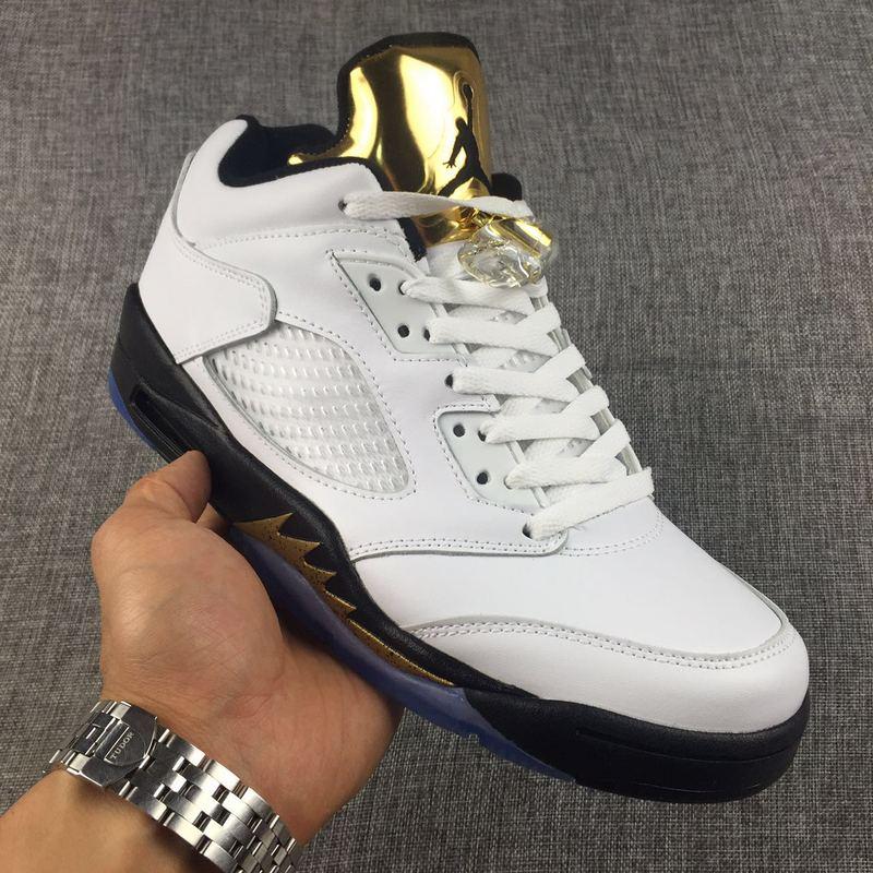 Men Basketball Shoes Air Jordan V Retro Low AAAA 316