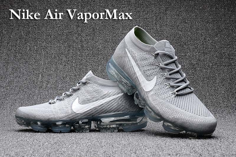 Nike Vapormax Flyknit Pure Platinum White Wolf Grey Air Max