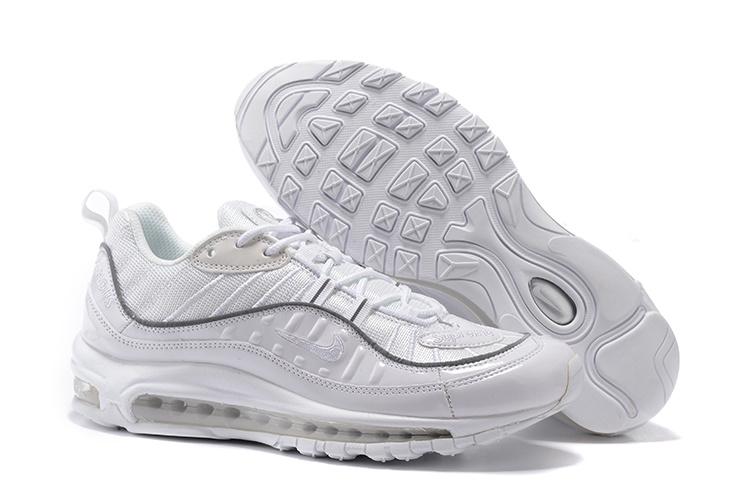 Men Supreme x NikeLab Air Max 98 Running Shoe 200