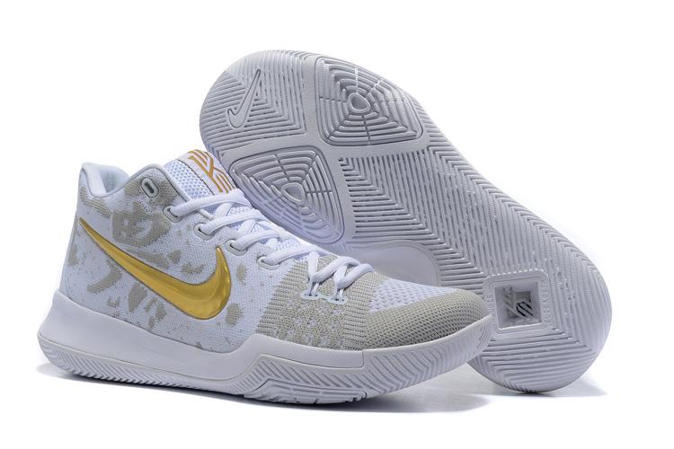 Men Nike Kyrie III Weave Basketball Shoes 292