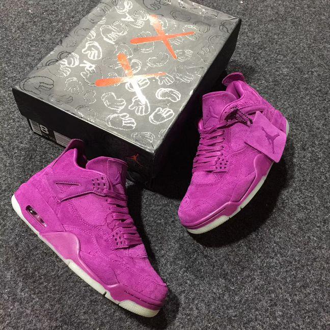 KAWS X Air Jordan 4 Men Basketball Shoe AAAA 335
