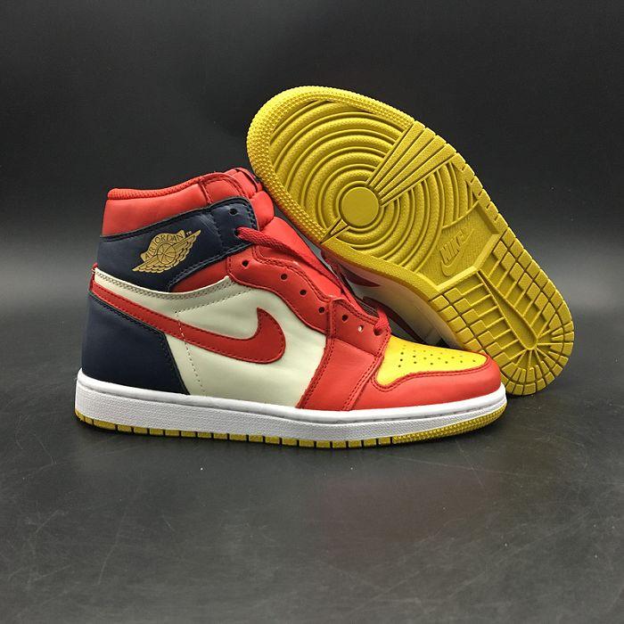 Men Basketball Shoes Air Jordan I Retro AAAAA 375