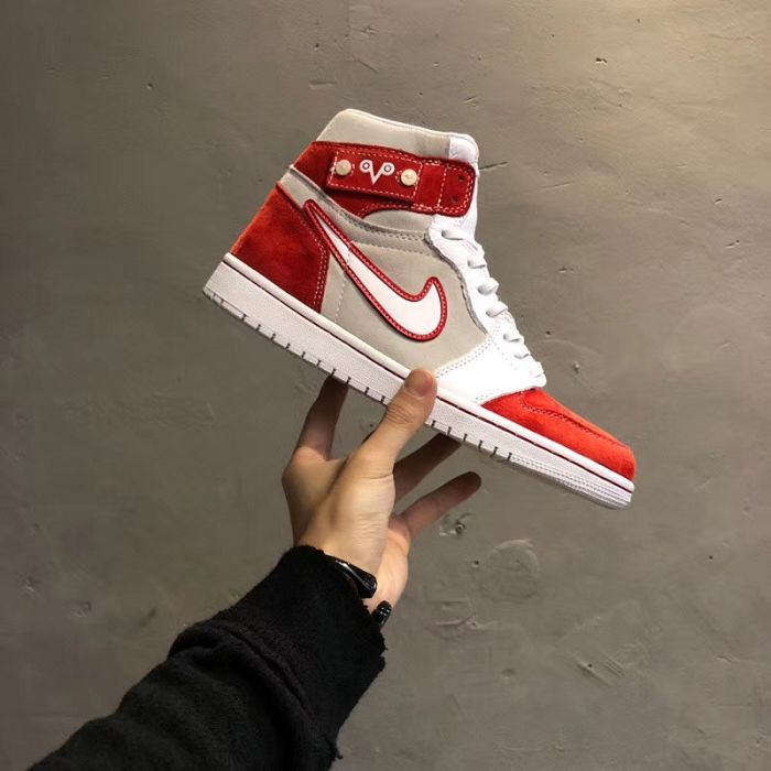 Men Basketball Shoes Air Jordan I Custom Drake AAAAA 414
