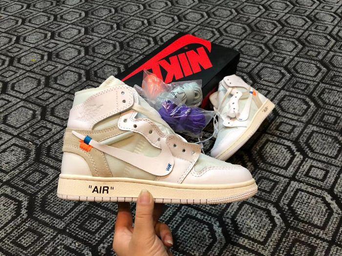 Men Off White x Air Jordan 1 AAAA 230