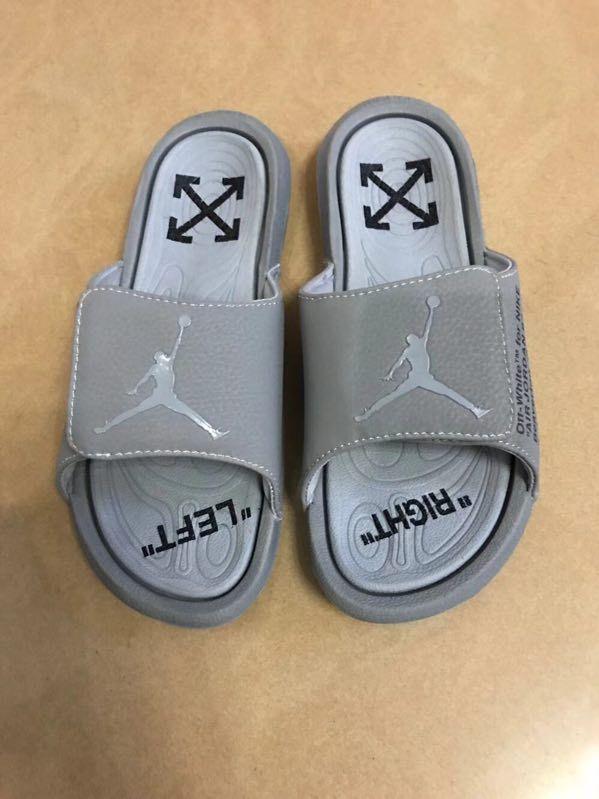 Men Off White x Jordan Hydro 6 Sandals 287