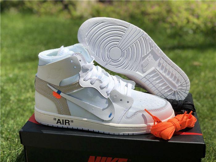 Women Off-White x Air Jordan 1 AAAAAA 236