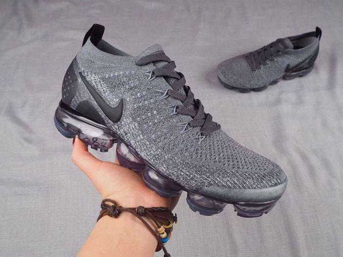 Men Nike Air VaporMax 2018 Flyknit Running Shoes AAAA 367