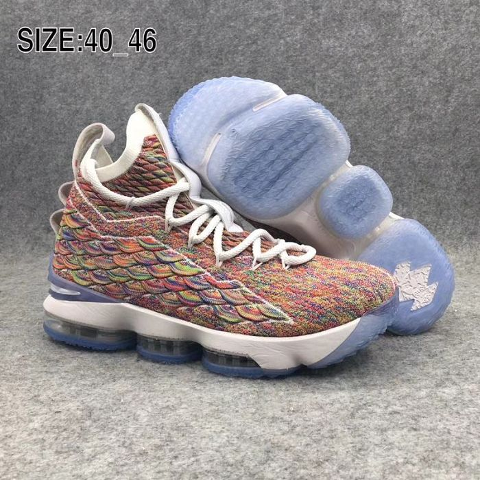Men Nike LeBron 15 Basketball Shoes 650