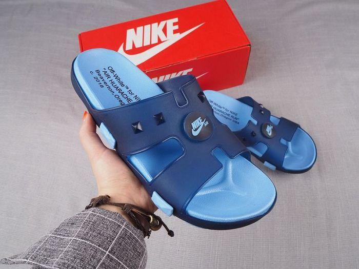 Men Off White Nike Slipper 306