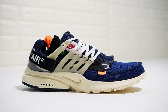 Men Off White x Nike Air Presto Running Shoe AAA 301