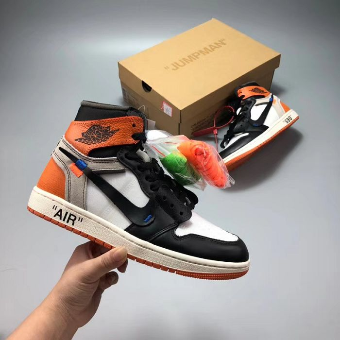 Men Off White x Air Jordan 1 AAAAA 251