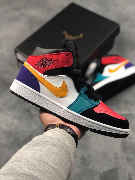 Men Basketball Shoes Air Jordan I Retro AAAA 654