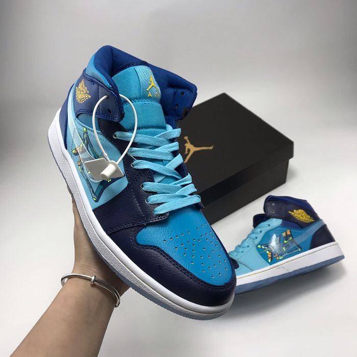 Men Basketball Shoes Air Jordan I Retro AAAA 756