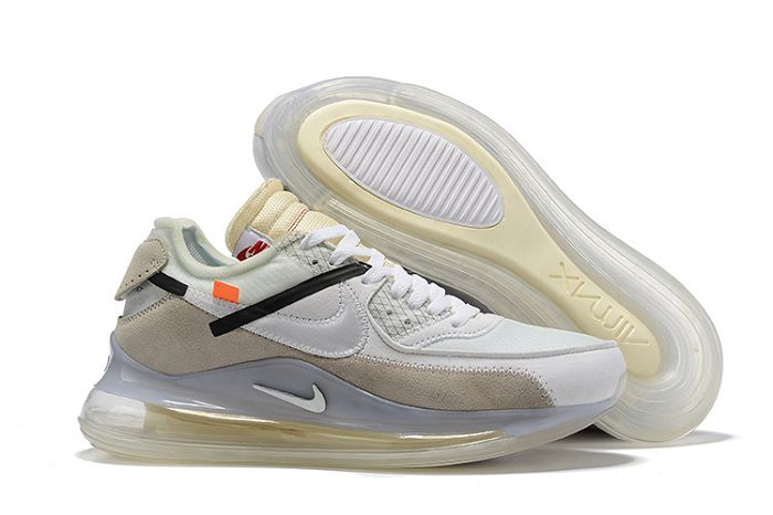 Men Nike x Off White Air 720 90 Running Shoes 510