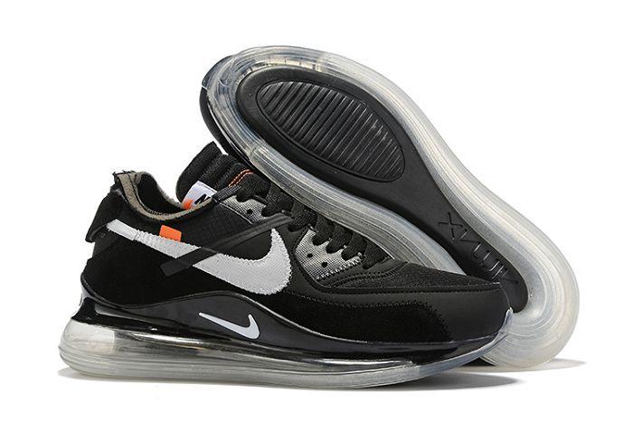 Men Nike x Off White Air 720 90 Running Shoes 511