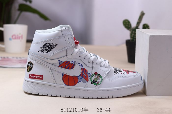 Men Air Jordan I Retro Basketball Shoes 844