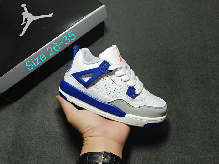 Kids Air Jordan IV Sneakers 260