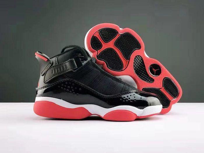 Kids Air Jordan 6.5 Rings Sneakers 236