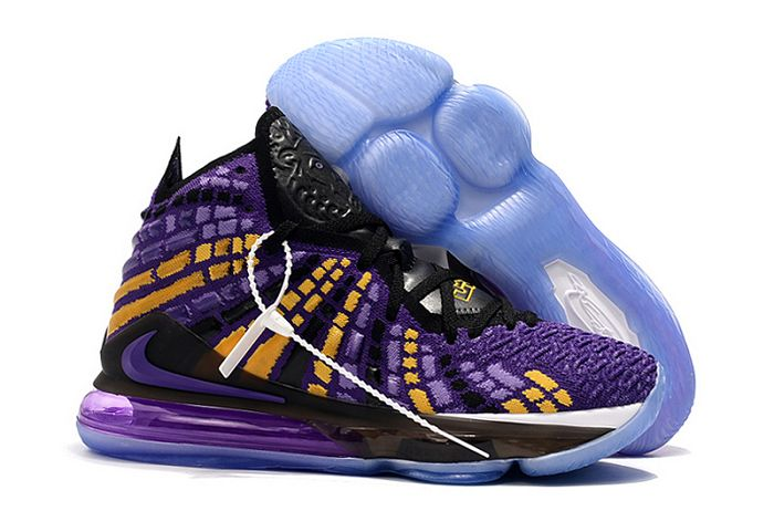 Men Nike LeBron 17 Basketball Shoes 878