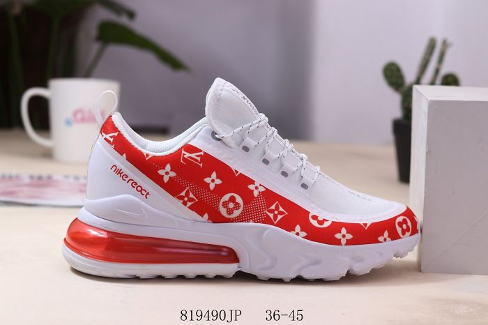 Men Nike Air Max 270 V2 Running Shoes 444