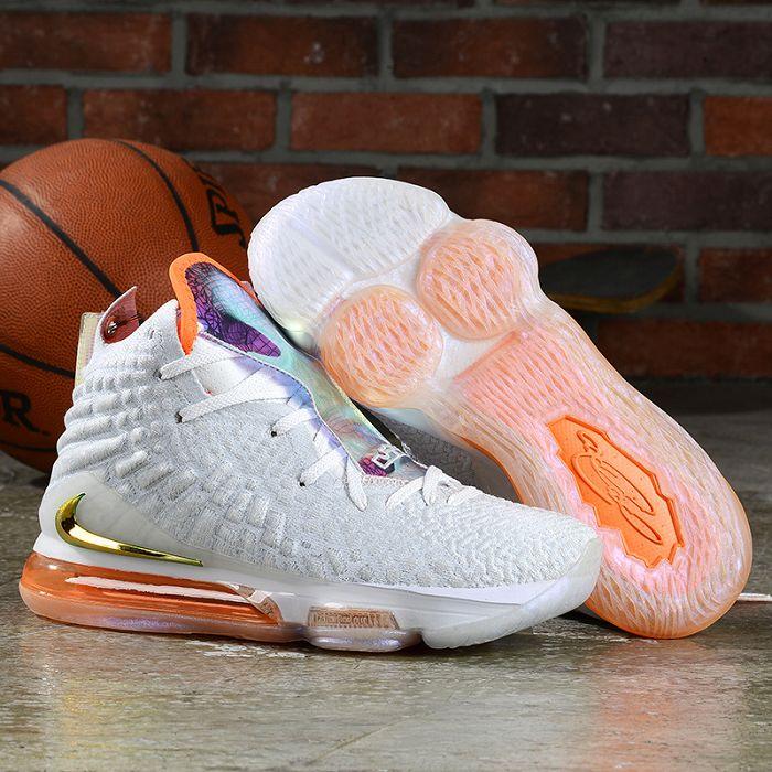 Men Nike LeBron 17 Basketball Shoes AAAA 894