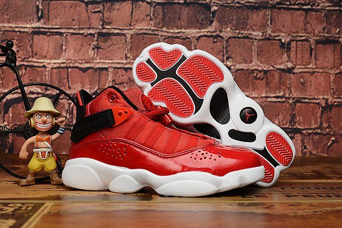 Kids Air Jordan 6.5 Rings Sneakers 243