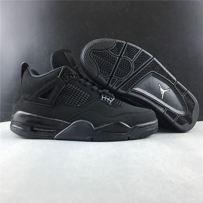 Men Air Jordan 4 Black Cat