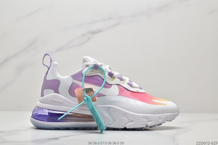 Women Nike Air Max 270 React Sneakers AAAA 373