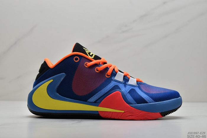 Men Nike Zoom Freak 1 Basketball Shoes 211
