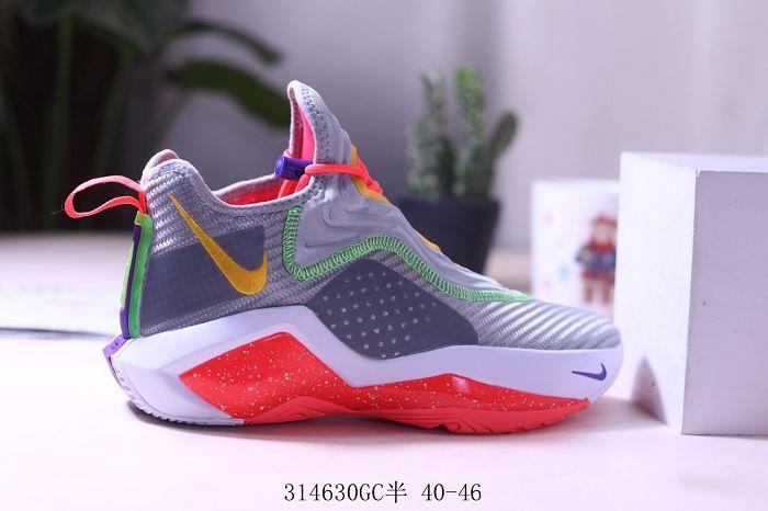 Men Nike LeBron XIV Soldier Basketball Shoes 953