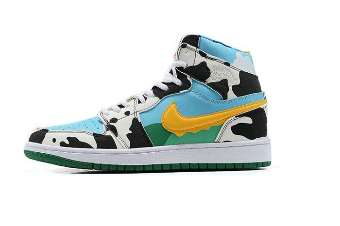 Men Air Jordan I Retro Basketball Shoes 1012
