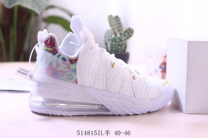 Men Nike LeBron 18 Basketball Shoes 974