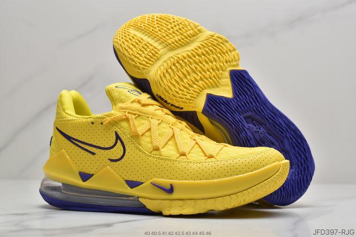 Men Nike LeBron 17 Basketball Shoes 976