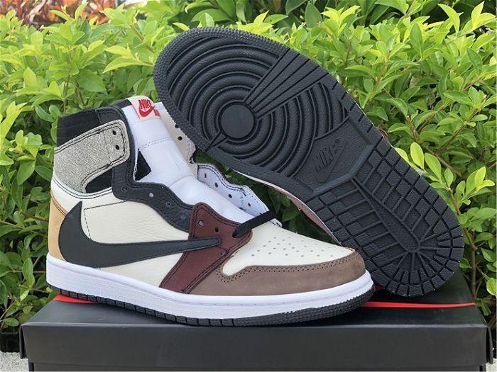 Men Travis Scott x Air Jordan 1 Sample