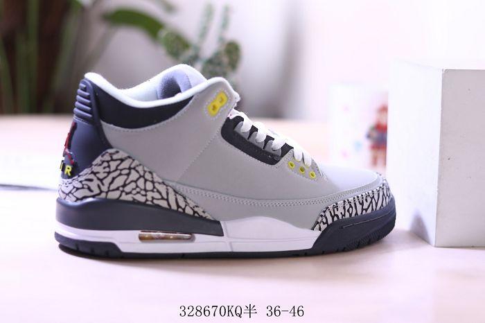 Men Air Jordan III Basketball Shoes AAAA 432