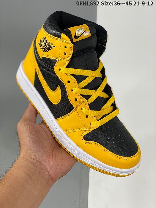 Men Air Jordan I Retro Basketball Shoes 1152