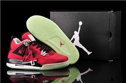 Women Air Jordan IV GS Denim Sneakers AAA 266