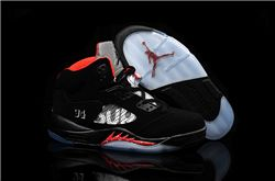 Men Basketball Shoes Supreme x Air Jordan 5 Retro 275