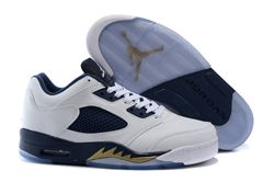 Men Basketball Shoes Air Jordan V Retro Low 2...