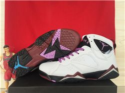 Women Sneakers Air Jordan 7 GS Fuchsia Glow 222