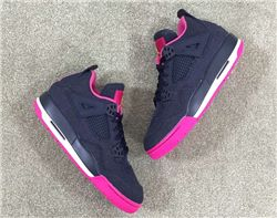 Women Air Jordan IV GS Denim Sneakers AAA 266