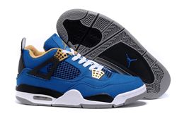 Men Basketball Shoes Air Jordan IV Retro Canv...