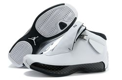Men Basketball Shoes Air Jordan XVIII Retro 2...