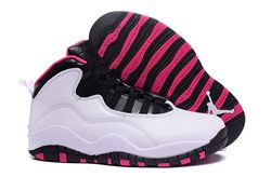 Women Air Jordan X Retro Sneakers AAA 213