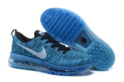 Men Nike Air Max 2014 Flyknit Running Shoes 266