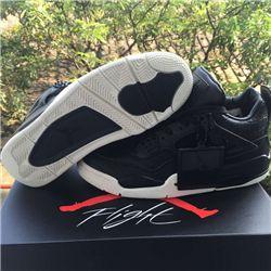 Men Basketball Shoe Air Jordan IV Pinnacle Black AAA 306